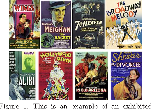 Figure 1 for Could you guess an interesting movie from the posters?: An evaluation of vision-based features on movie poster database