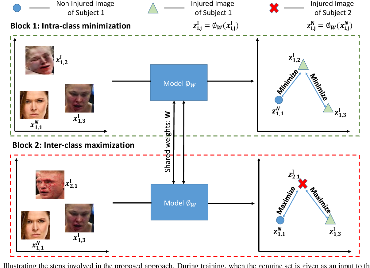 Figure 3 for Subclass Contrastive Loss for Injured Face Recognition