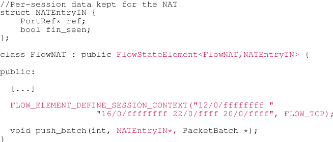 Figure 5 from Building a chain of high-speed VNFs in no time
