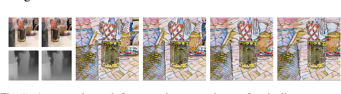 Figure 1 for GPU-Accelerated Mobile Multi-view Style Transfer