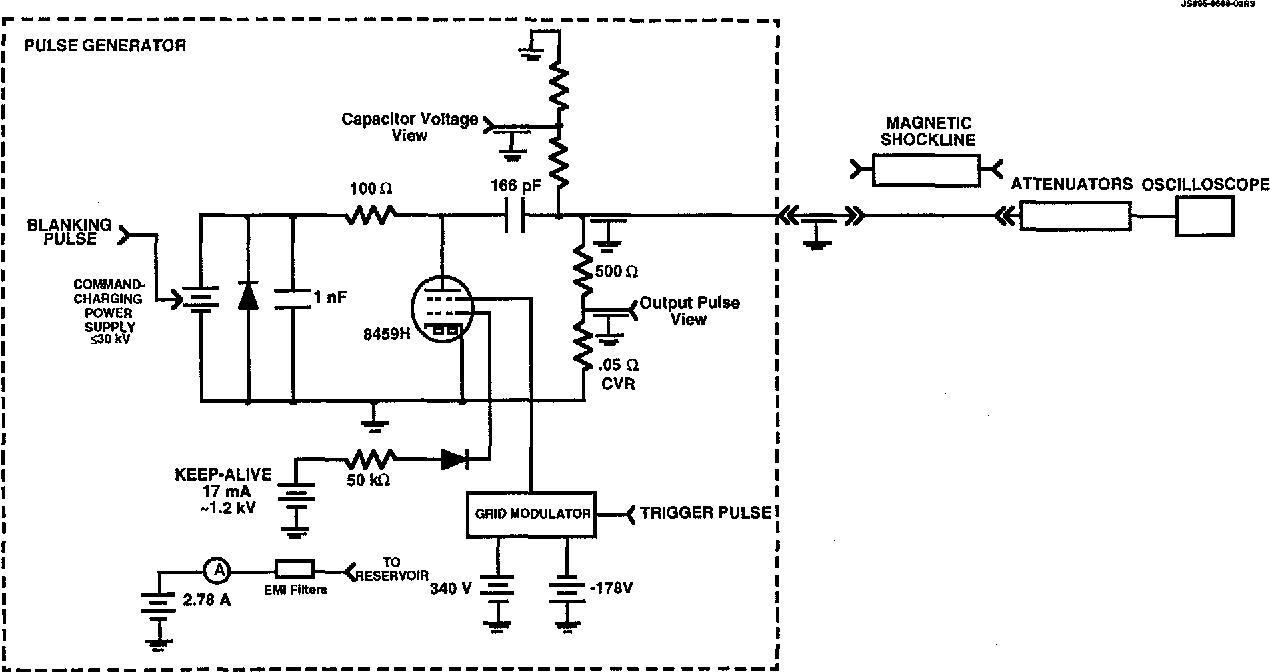 Figure 2 From Short Pulse Generator With A Crossatron Sup R Schematic Switch Diagram