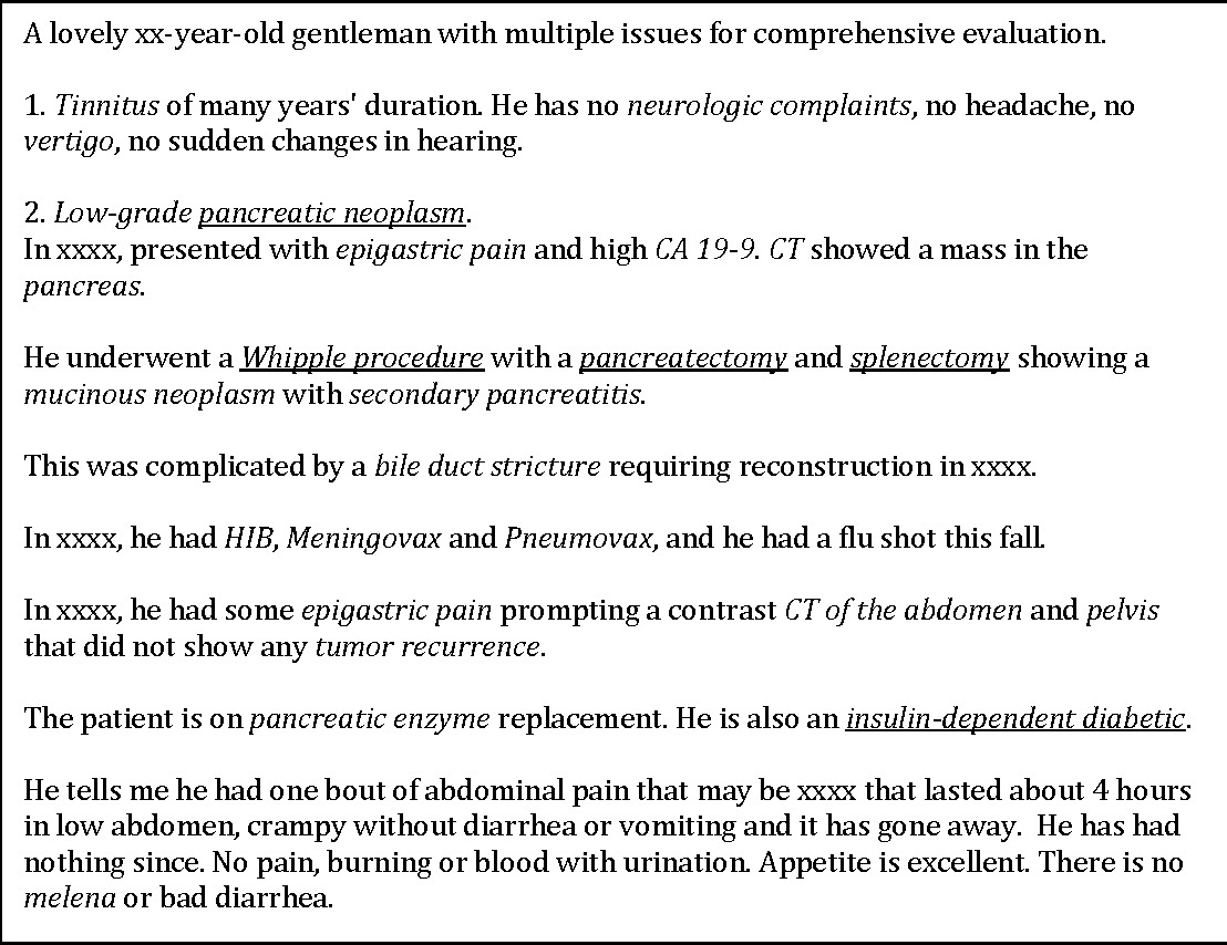 Figure 1 for Unsupervised Ensemble Ranking of Terms in Electronic Health Record Notes Based on Their Importance to Patients