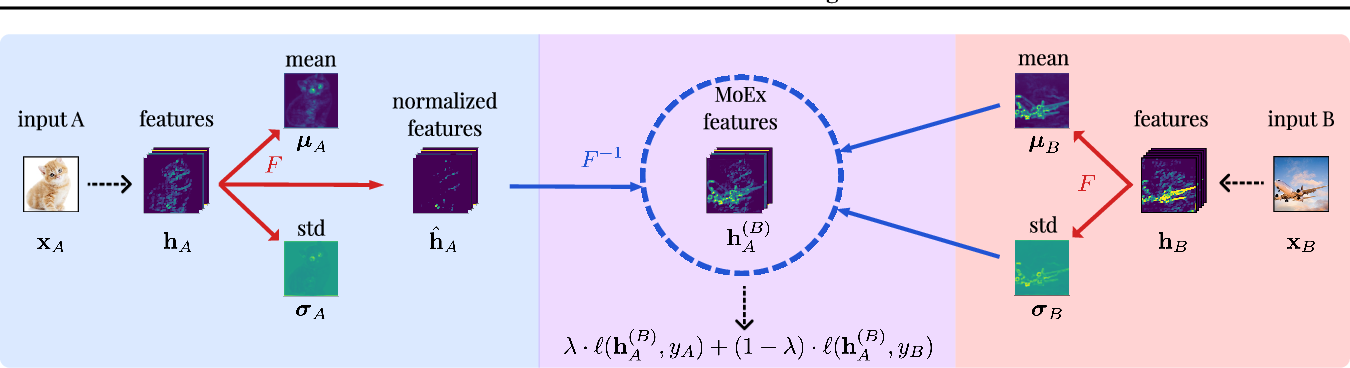 Figure 1 for On Feature Normalization and Data Augmentation