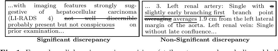 Figure 1 for Ranking Significant Discrepancies in Clinical Reports