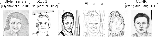 Figure 3 for Scribbler: Controlling Deep Image Synthesis with Sketch and Color
