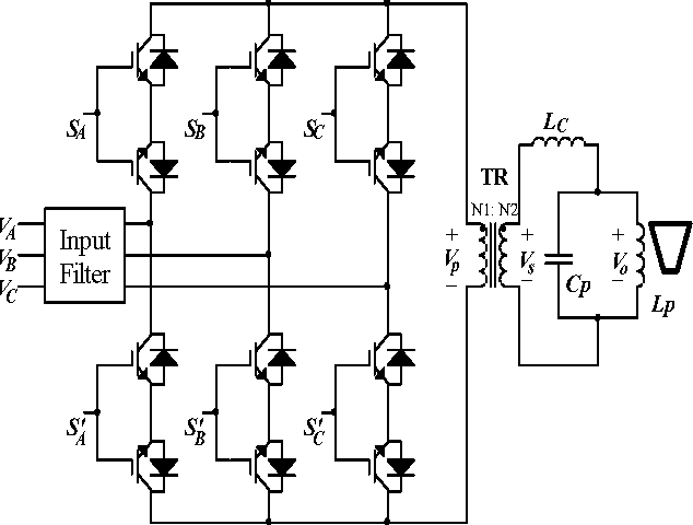 1 illustrates the power circuit of proposed ihd that employs six  bi-directional