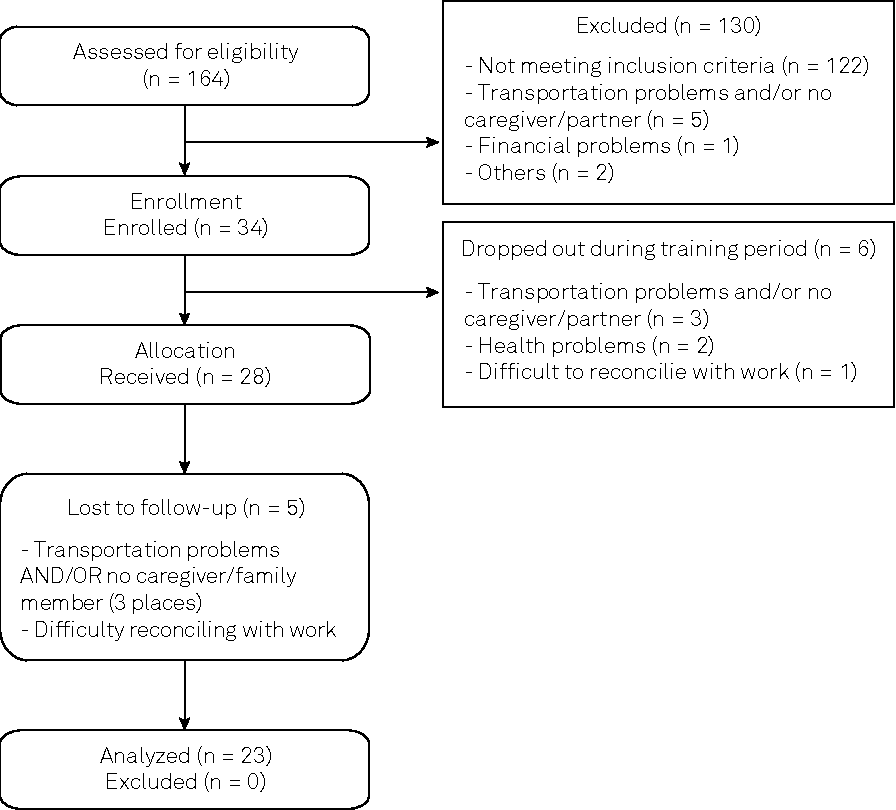 Home-based exercise program in TSP/HAM individuals: a feasibility ...