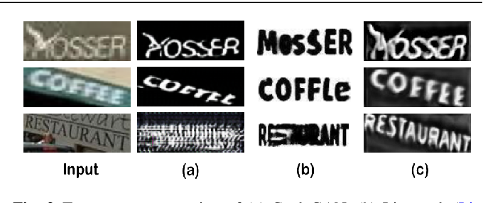 Figure 3 for Separating Content from Style Using Adversarial Learning for Recognizing Text in the Wild