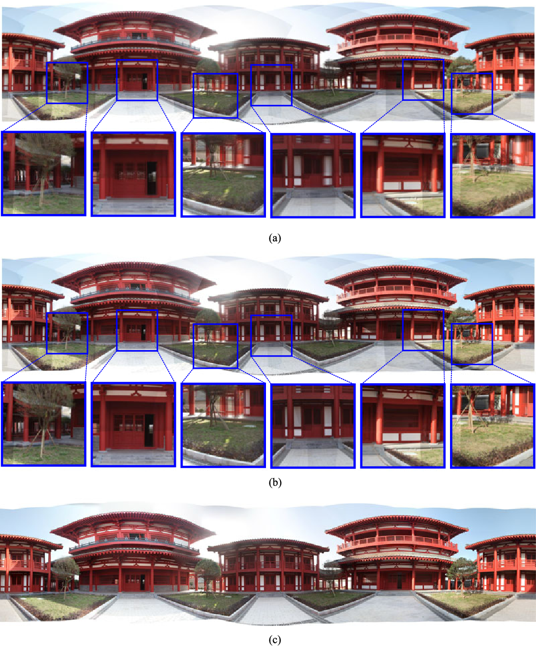Figure 12 from Parallax-Tolerant Image Stitching Based on Robust