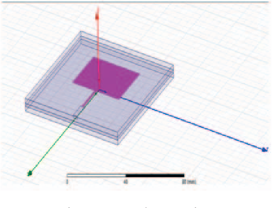 Figure 2 from Improved microstrip patch antenna with
