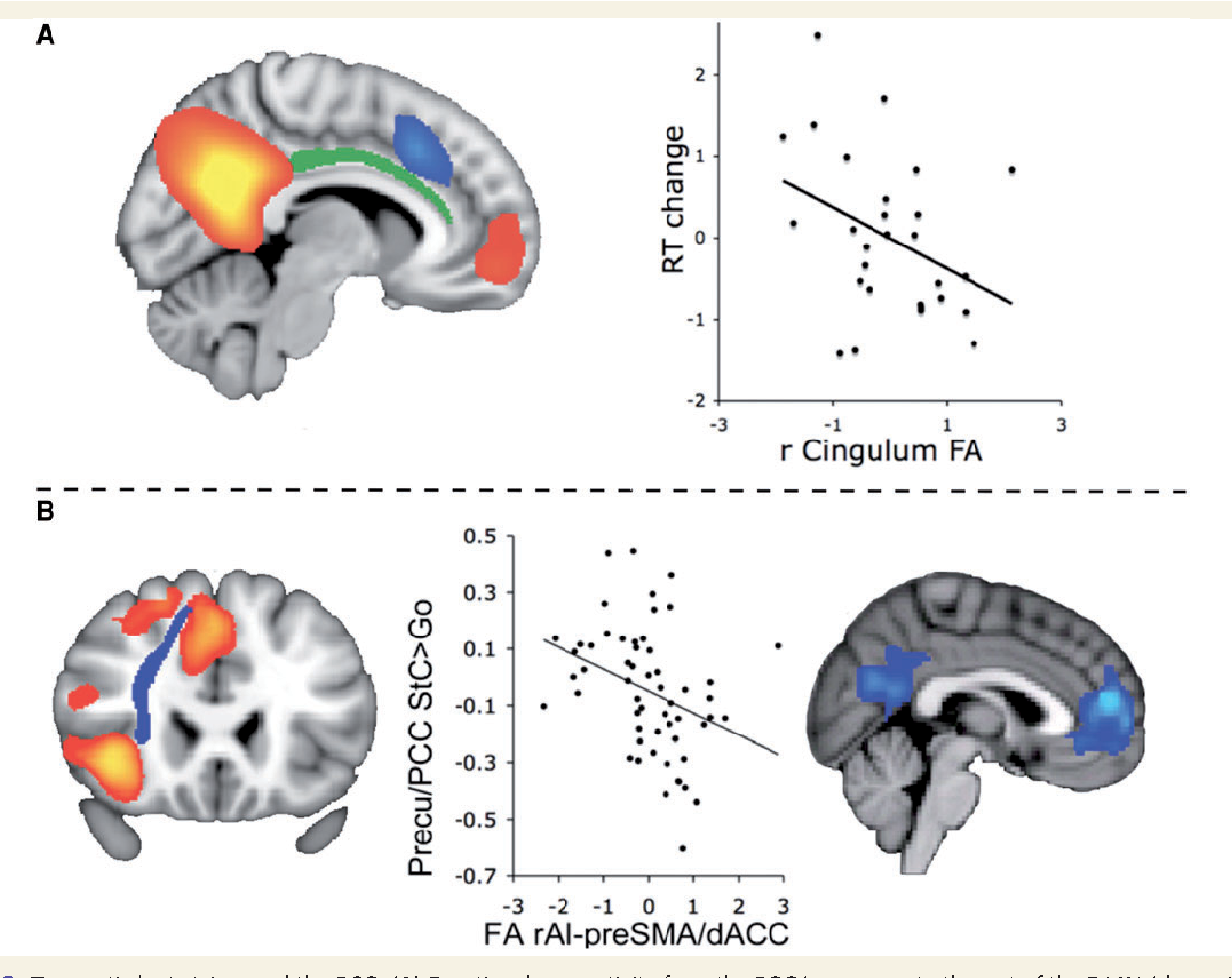 The role of the posterior cingulate cortex in cognition and disease ...