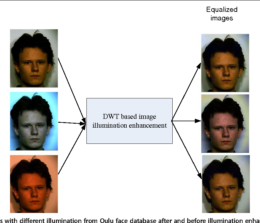 Figure 3 for Face recognition using color local binary pattern from mutually independent color channels