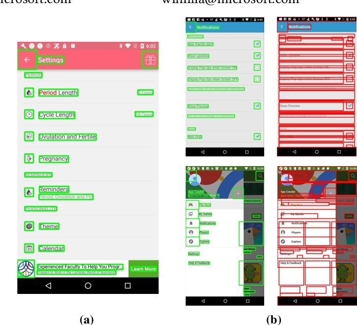 Figure 1 for Understanding Mobile GUI: from Pixel-Words to Screen-Sentences