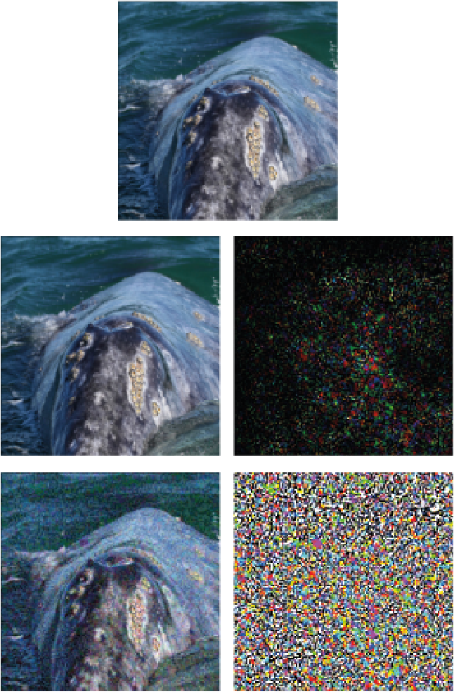 Figure 1 for DeepFool: a simple and accurate method to fool deep neural networks