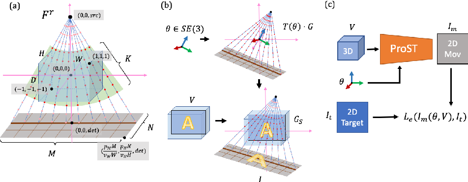 Figure 1 for Generalizing Spatial Transformers to Projective Geometry with Applications to 2D/3D Registration