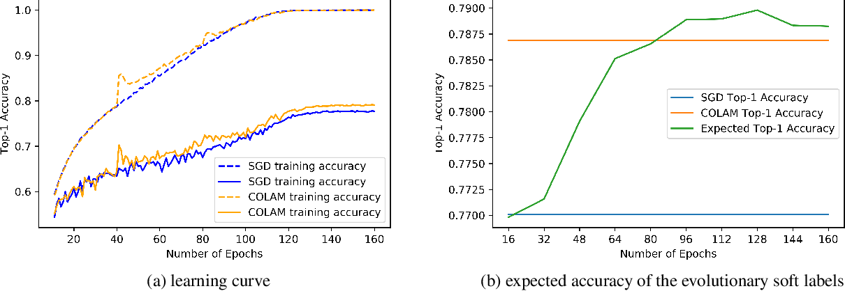 Figure 2 for COLAM: Co-Learning of Deep Neural Networks and Soft Labels via Alternating Minimization