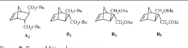 Figure 7. Four additional monomers.