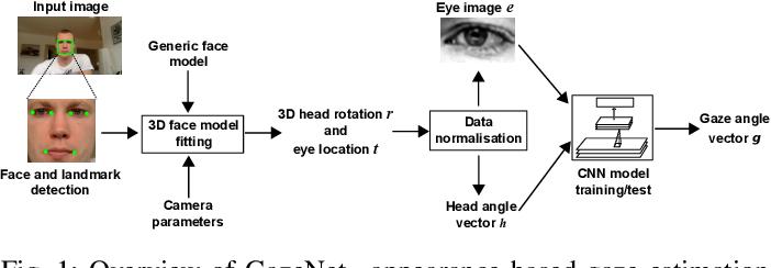 Figure 1 for MPIIGaze: Real-World Dataset and Deep Appearance-Based Gaze Estimation