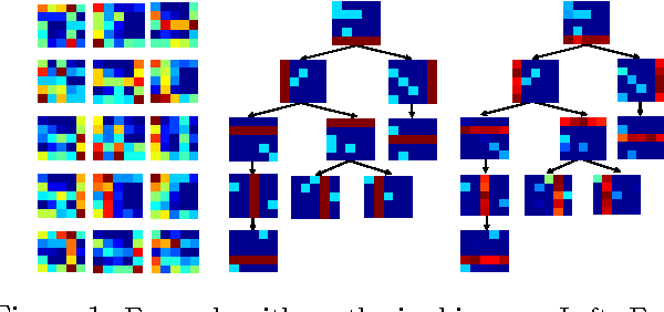 Figure 1 for Nested Dictionary Learning for Hierarchical Organization of Imagery and Text
