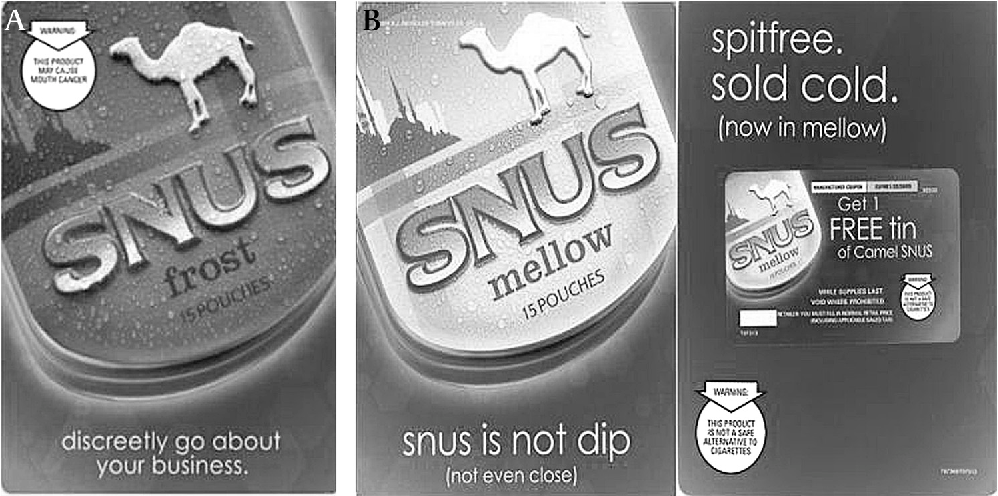 Figure 2 from Is snus the same as dip? Smokers' perceptions of new