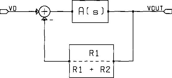 non-inverting amplifier block diagram
