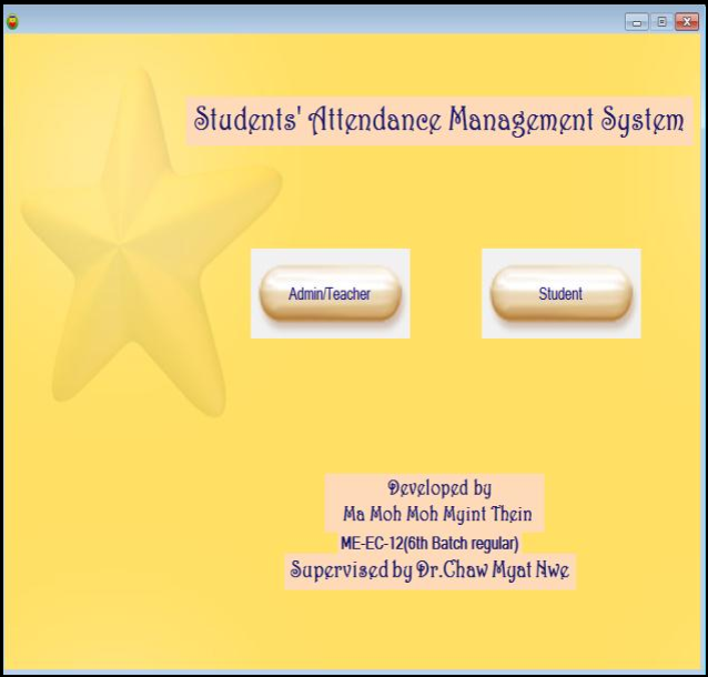 Figure 13 from Students' Attendance Management System Based