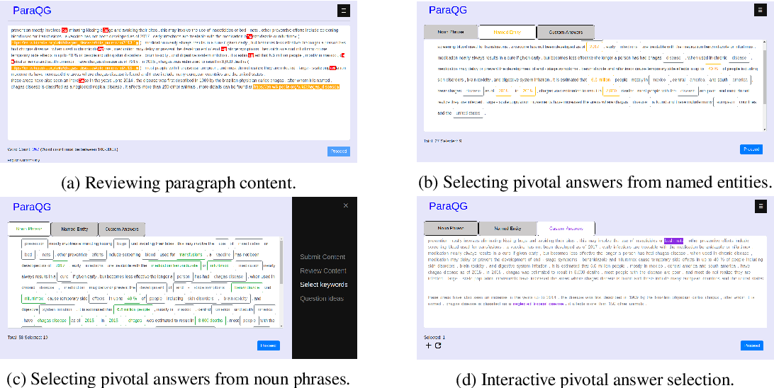 Figure 2 for ParaQG: A System for Generating Questions and Answers from Paragraphs