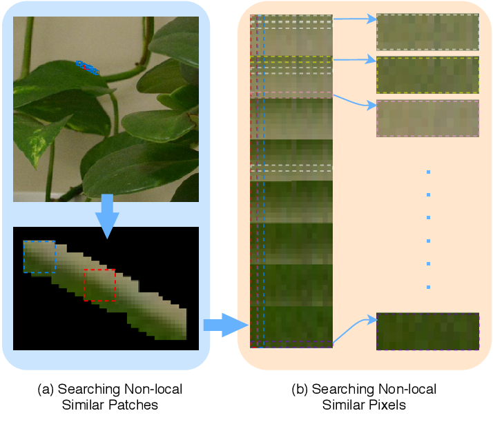 Figure 1 for NLH: A Blind Pixel-level Non-local Method for Real-world Image Denoising