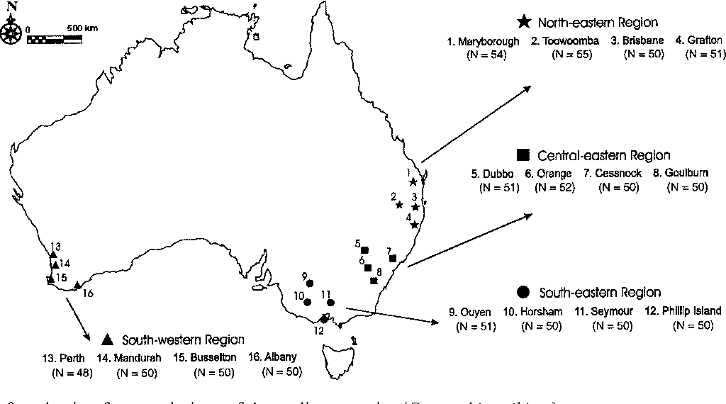 Population genetic structure of Australian magpies: evidence