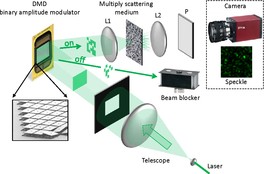 Figure 2 for Random Projections through multiple optical scattering: Approximating kernels at the speed of light