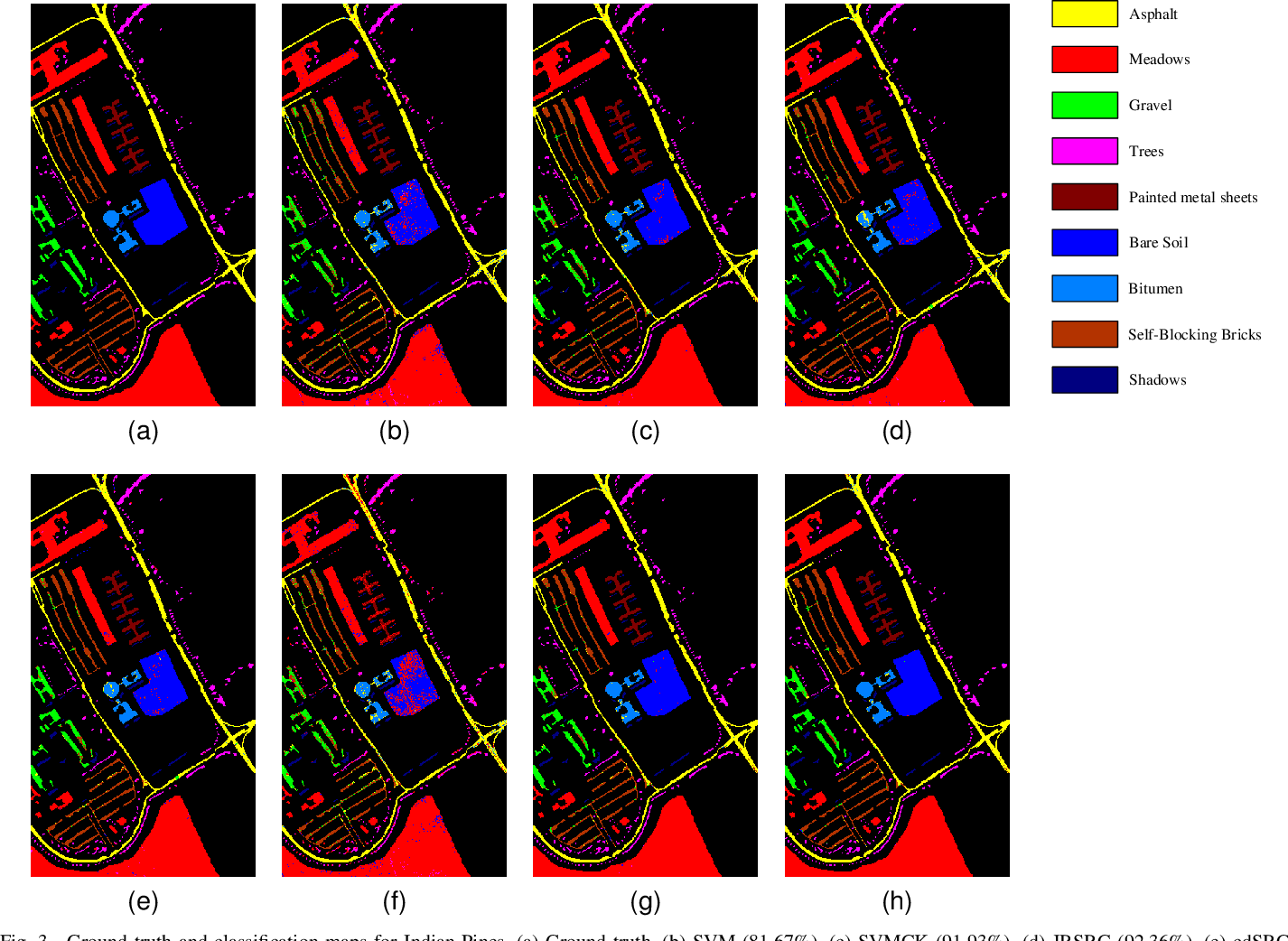 Figure 3 for Locality and Structure Regularized Low Rank Representation for Hyperspectral Image Classification