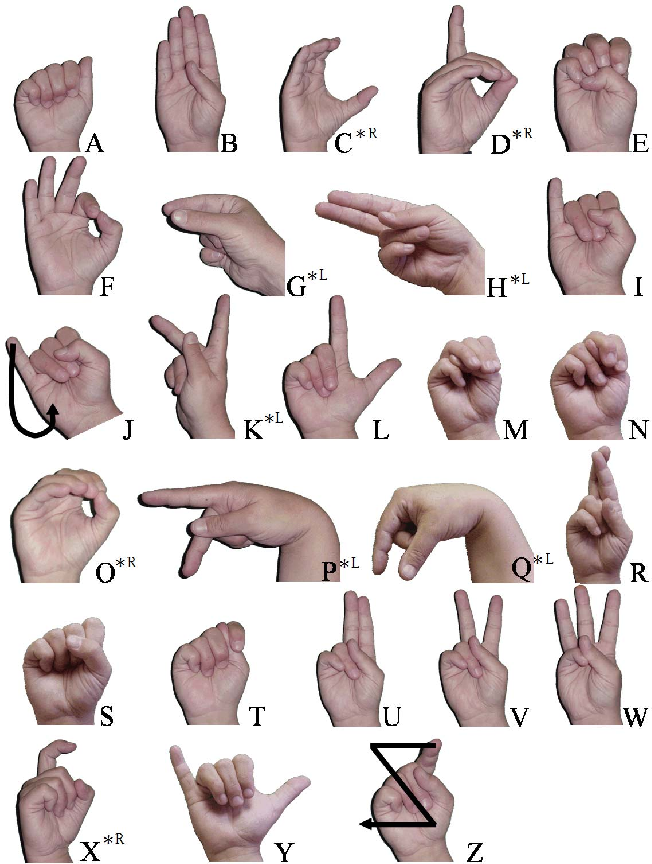 Figure 1 for Sign Language Fingerspelling Classification from Depth and Color Images using a Deep Belief Network