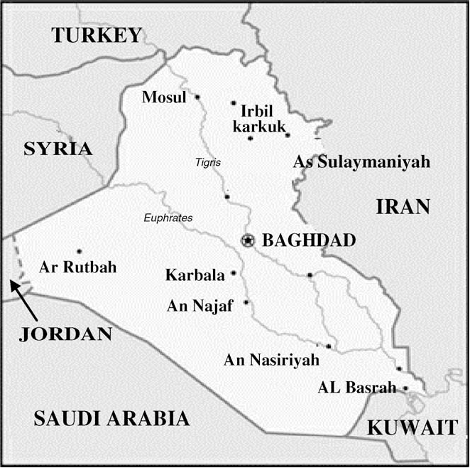Figure 1 From Y Chromosome And Mtdna Polymorphisms In Iraq A