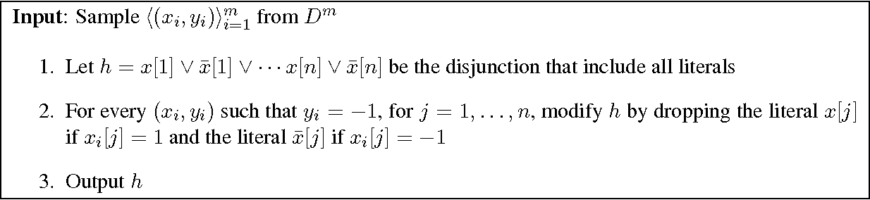 Figure 1 for Distribution-Independent Reliable Learning