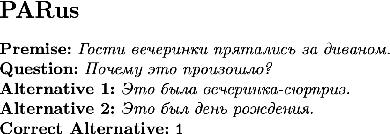 Figure 2 for RussianSuperGLUE: A Russian Language Understanding Evaluation Benchmark