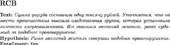 Figure 4 for RussianSuperGLUE: A Russian Language Understanding Evaluation Benchmark