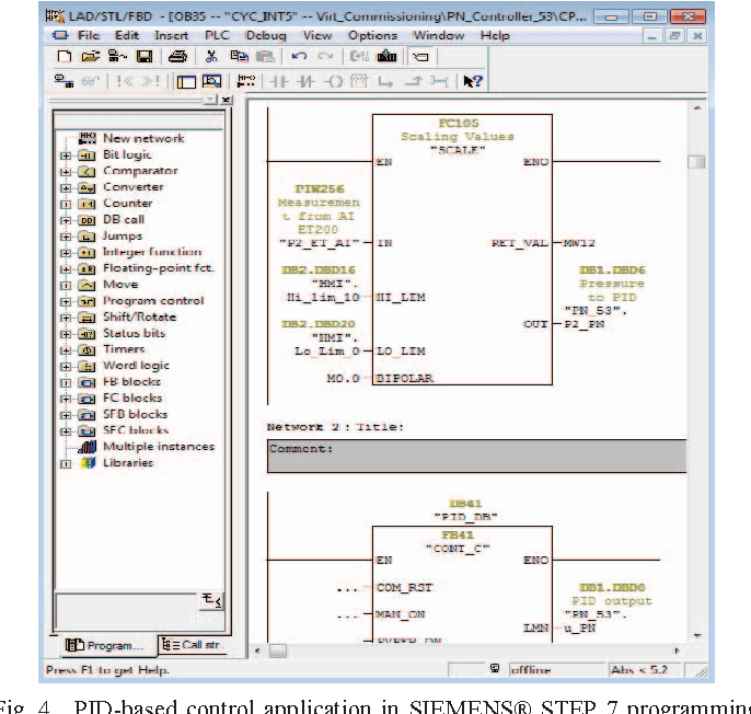 Figure 4 from Virtual commissioning for the control of the