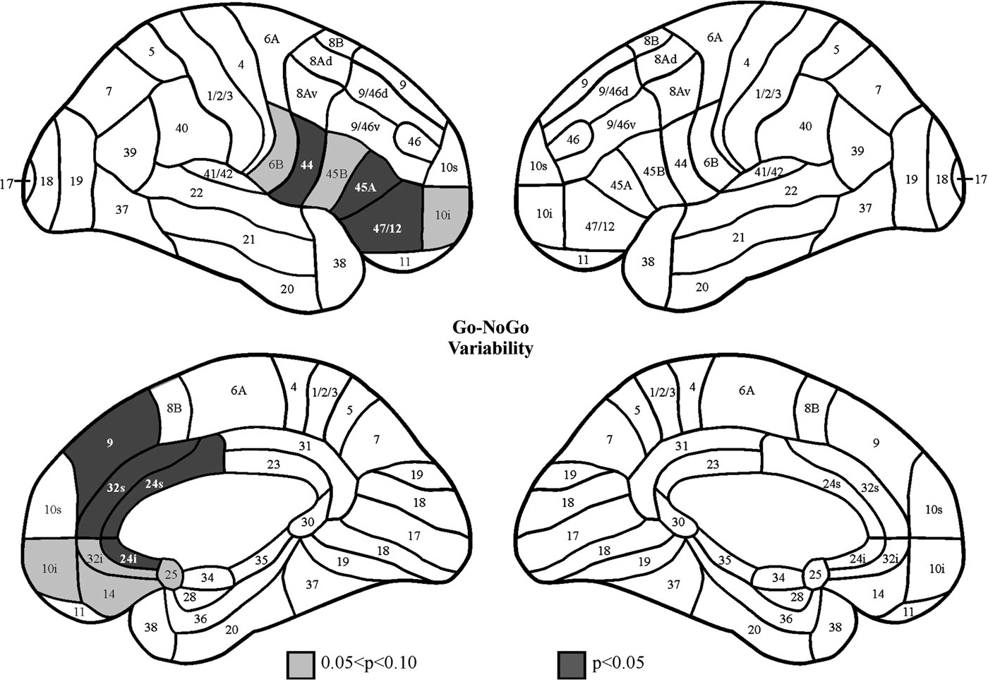 Figure 3 from Effects of focal frontal lesions on response