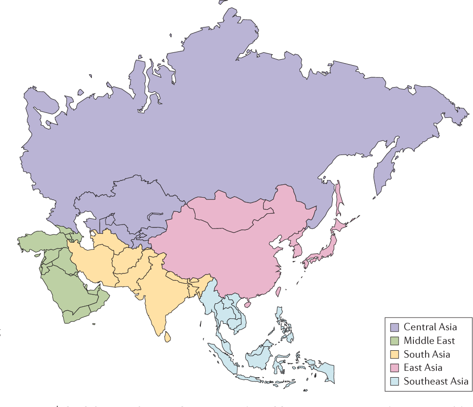 What is asian definition russian