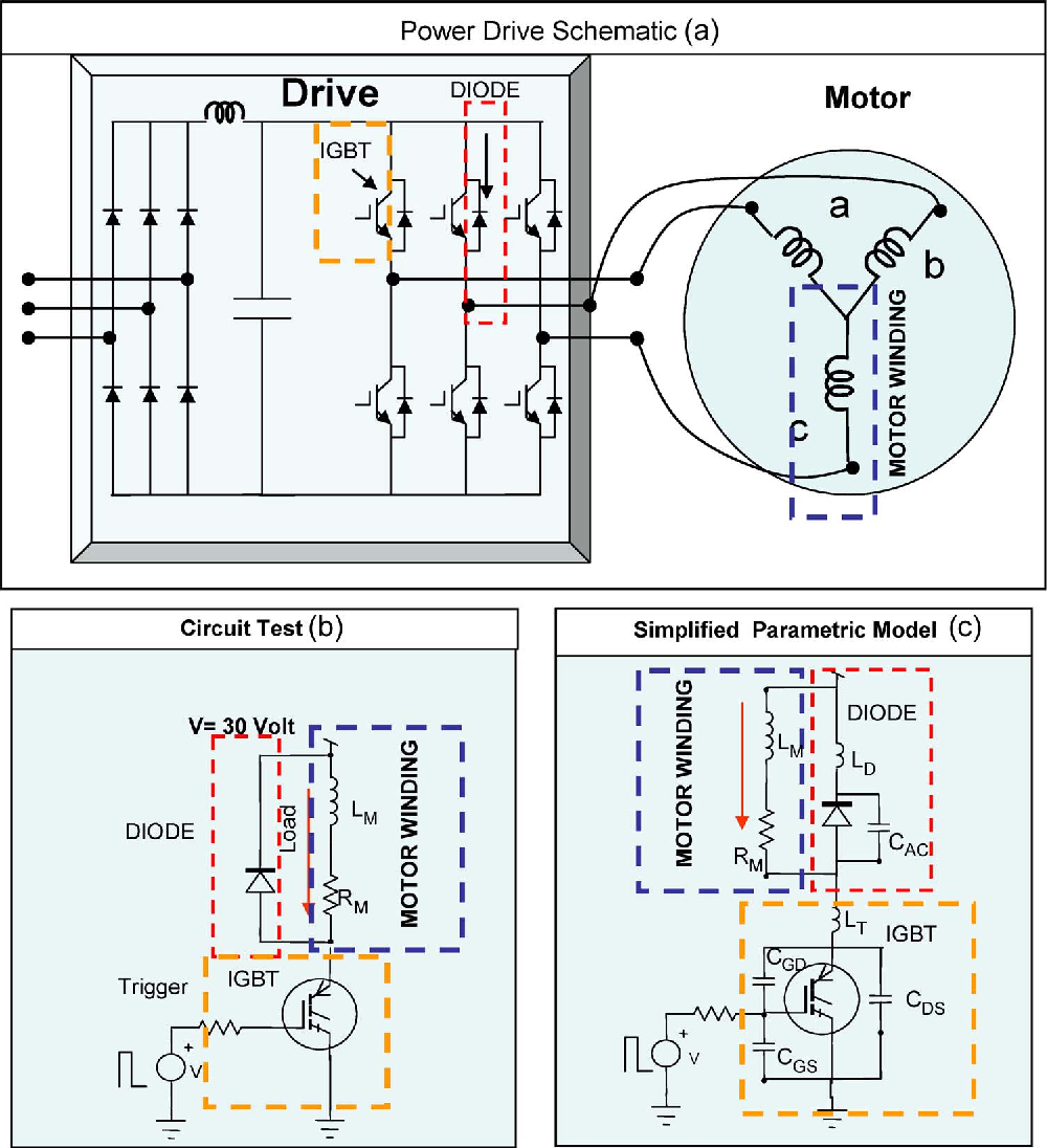 Online Ringing Characterization As A Diagnostic Technique For Igbts Igbt Motor Drive Circuit Diagram High Wiring And In Power Drives Semantic Scholar