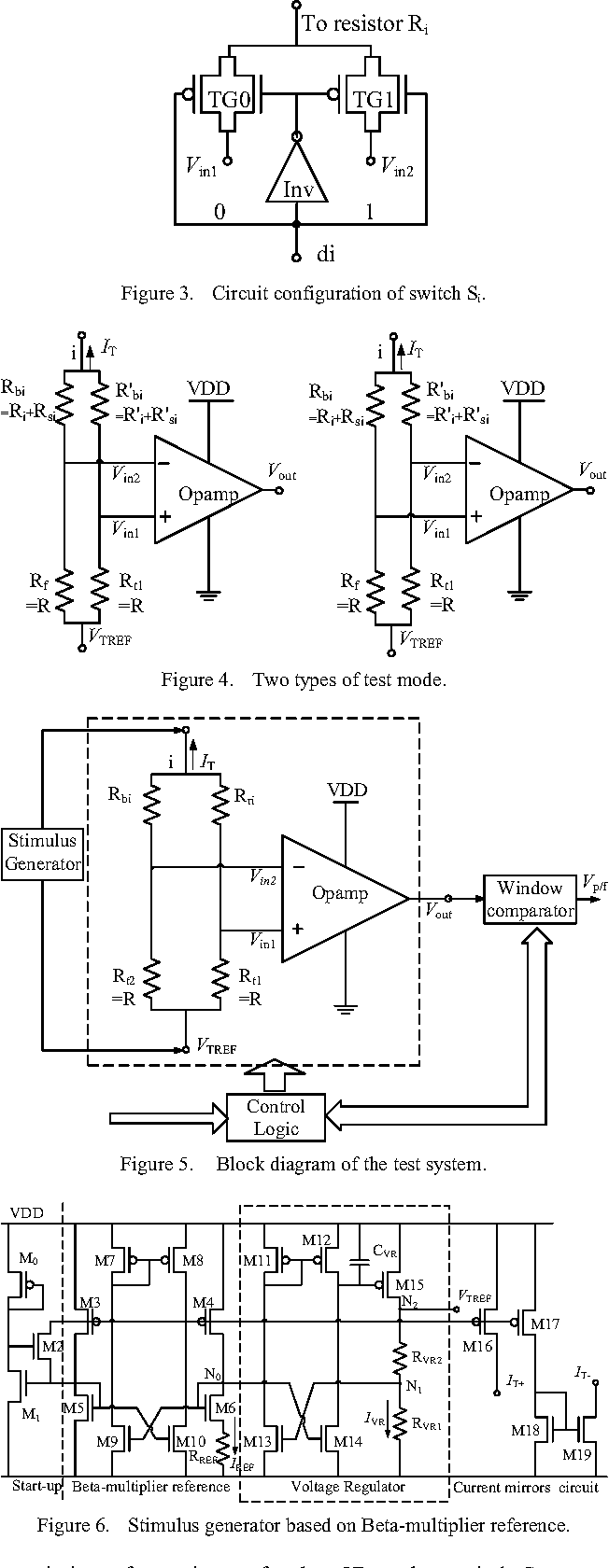 A Bist Scheme Based On Resistance Match For Current Mode R 2r Ladder Dac Circuit Diagram Digital To Analog Converter Semantic Scholar