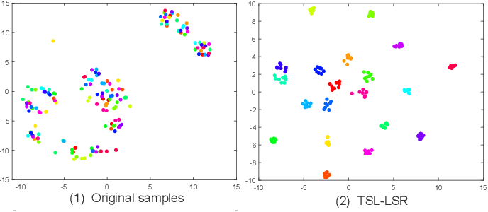 Figure 3 for Transition Subspace Learning based Least Squares Regression for Image Classification