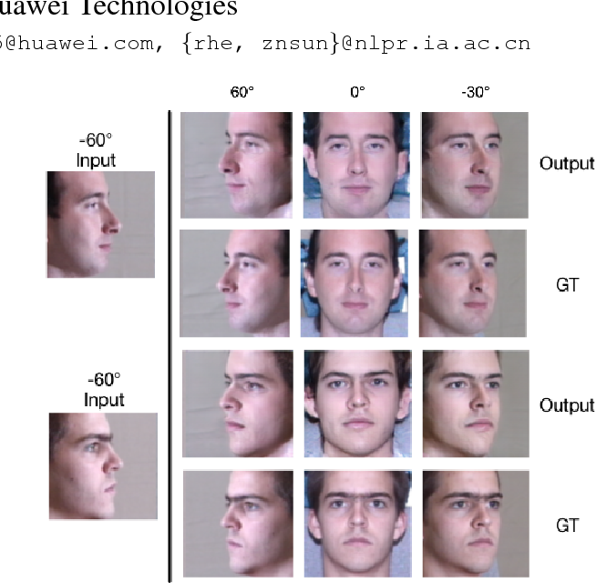 Figure 1 for Load Balanced GANs for Multi-view Face Image Synthesis