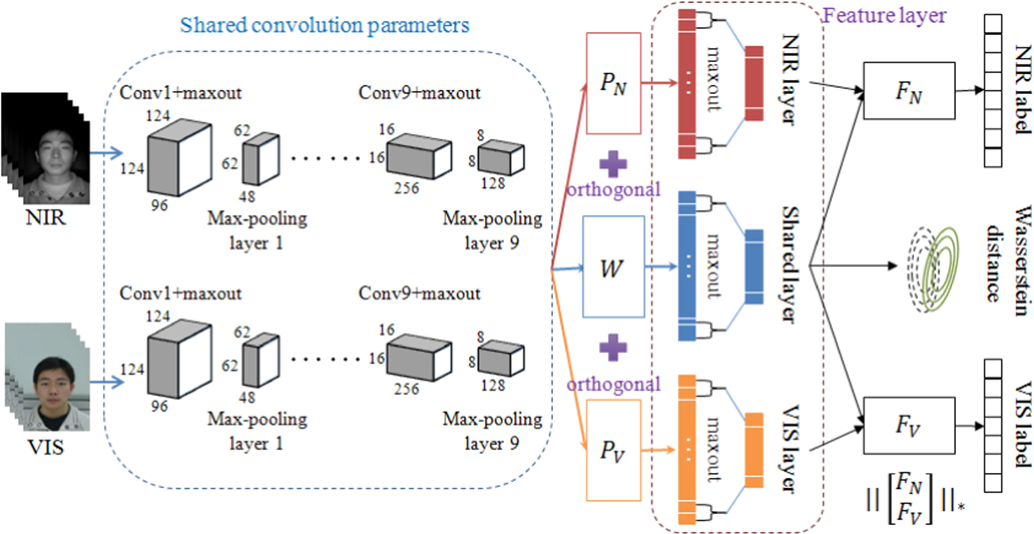 Figure 1 for Wasserstein CNN: Learning Invariant Features for NIR-VIS Face Recognition