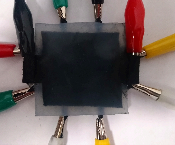Figure 1 for Development of Soft Tactile Sensor for Force Measurement and Position Detection