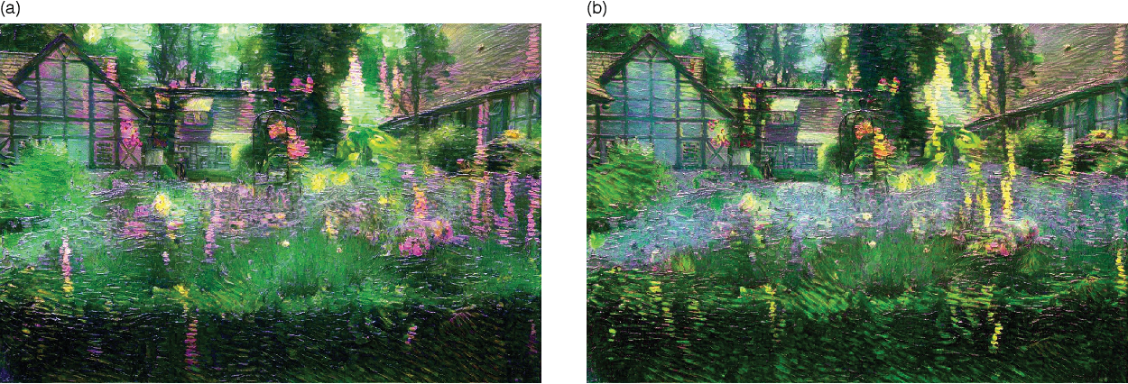 Figure 2 for Preserving Color in Neural Artistic Style Transfer