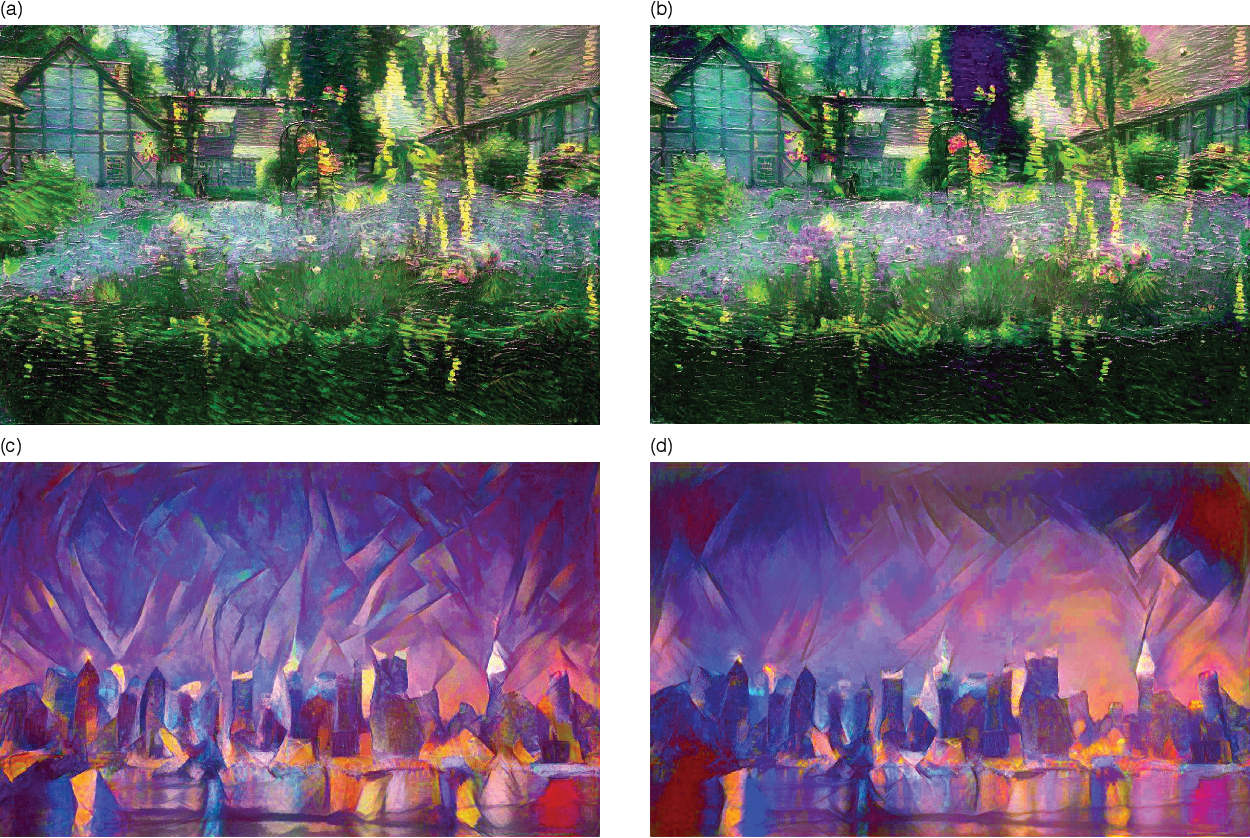 Figure 3 for Preserving Color in Neural Artistic Style Transfer