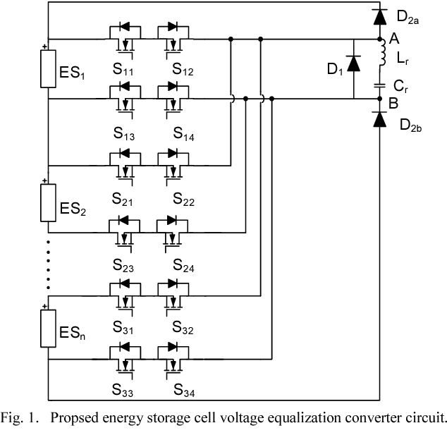 Figure 1 from A series resonant circuit for voltage equalization of