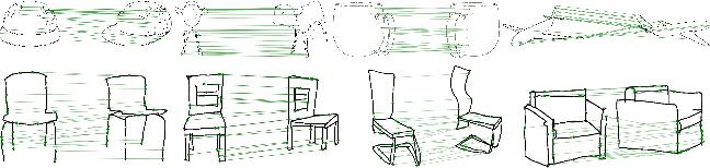 Figure 1 for SketchDesc: Learning Local Sketch Descriptors for Multi-view Correspondence