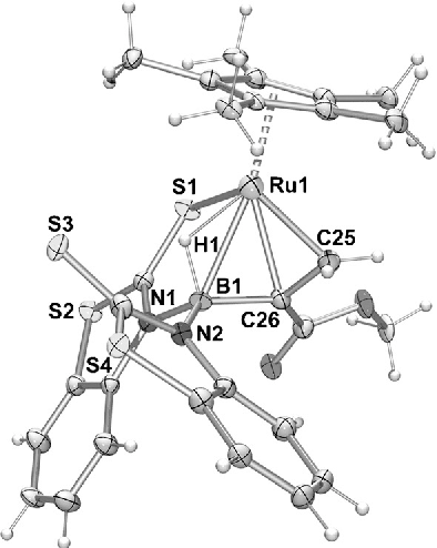 Figure 2 From 4 Hbcc Borataallyl Complexes Of Ruthenium
